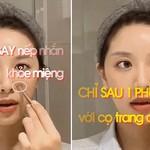 Học chuyên gia Nhật ĐÁNH BAY nếp nhăn khóe miệng chỉ sau 1 phút với cọ trang điểm