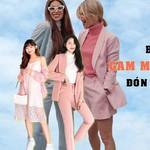 Bí kíp mặc đồ gam màu hồng pastel đón hè không bị sến súa