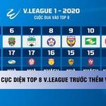 Cục diện top 8 V.League trước thềm vòng 13