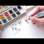 Vẽ tranh bằng bút lông màu - P2