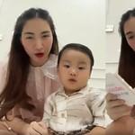 Hòa Minzy chưa cho con trai gần 2 tuổi học tiếng Anh, nghe lý do thì cực hợp lý