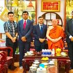 TP.HCM: Đại Sứ Ấn Độ Thăm Chùa Phổ Minh