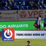 Trọng Hoàng không thể góp mặt tại vòng 13 V.League