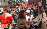 Bán hàng chộp giật ở chợ sinh viên