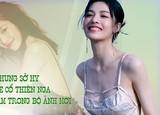 Chung Sở Hy khoe cổ thiên nga cực gợi cảm trong bộ ảnh mới