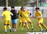 U23 Việt Nam luyện công đấu Jordan