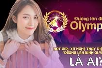 Hot girl xứ Nghệ thay Diệp Chi dẫn 'Đường lên đỉnh Olympia' là ai?