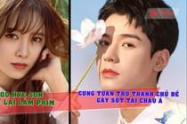 CHUYỆN SAO: Goo Hye Sun trở lại làm phim, Cung Tuấn trở thành chủ đề gây sốt tại châu Á