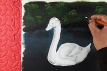 Vẽ tranh bằng bút lông màu - P1