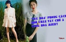 TRẺ HÓA phong cách nhờ chân váy chữ A cùng Hòa Minzy