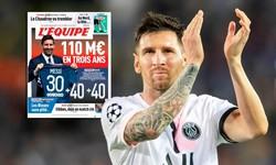 Tiết lộ điều khoản đặc biệt trong hợp đồng giữa Messi và PSG