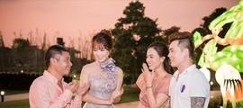Á hậu Thuỵ Vân bật mí về đám cưới của NSND Công Lý và bạn gái