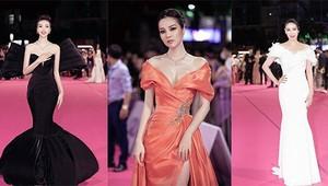 Đỗ Mỹ Linh khoe sắc với váy độc lạ, Tiểu Vy mất điểm vì bộ cánh sexy