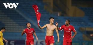 Người hùng Trọng Đại nói gì khi giúp Viettel tiến sát chức vô địch V-League 2020?